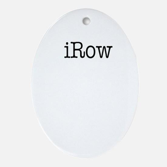 iRow Oval Ornament