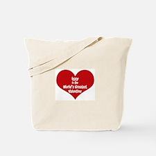 Greatest Valentine: Iggy Tote Bag