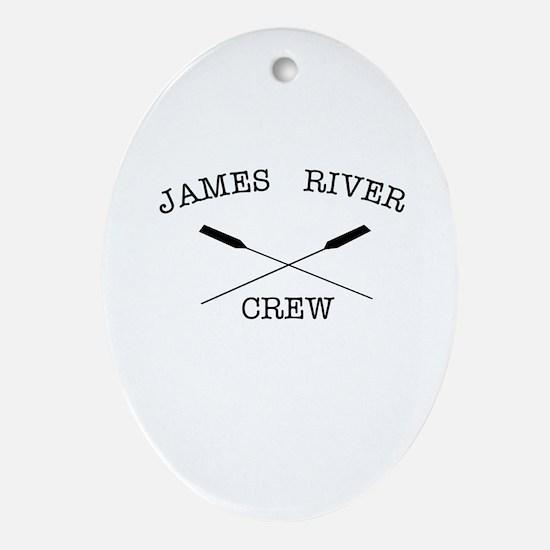 Jamesrivercrew Oval Ornament