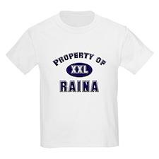 Property of raina Kids T-Shirt