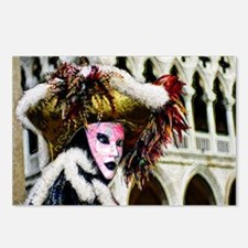 carnival_mask f  by Blake Postcards (Package of 8)