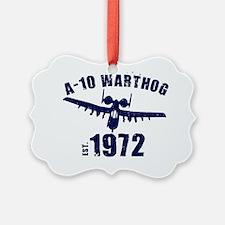 varsity-a10-72-navy Ornament