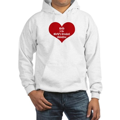 Greatest Valentine: Keith Hooded Sweatshirt