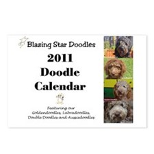 Doodle calendar cover Postcards (Package of 8)