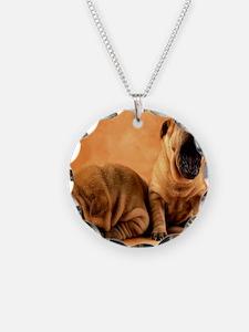shar pillow Necklace