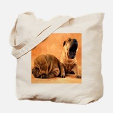 shar pillow Tote Bag