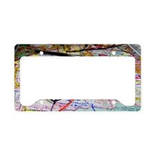 map_compass copy License Plate Holder