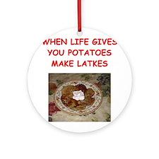 latke joke Ornament (Round)