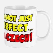 Not Just Perfect Czech Republic Mug
