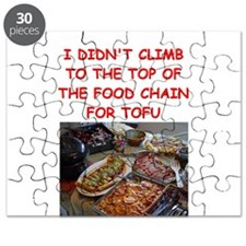 FUNNY FOOD POLICE NAZI TOFU JOKE Puzzle
