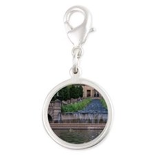 DC. Meridian Hill Park was bui Silver Round Charm