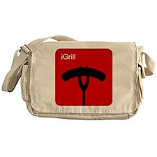iGrillRed Messenger Bag