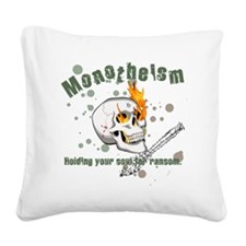 Monotheism Square Canvas Pillow