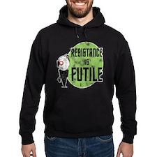 resistance-is-futile-worn Hoodie