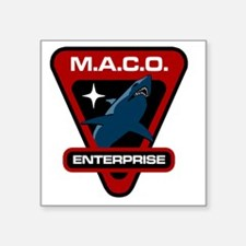 "maco-large-master copy Square Sticker 3"" x 3"""