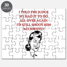 funny divorce divorced husband wife joke Puzzle