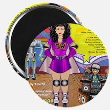 skatewomanalbumcover-back Magnet