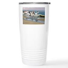 Painted Ocean Travel Mug