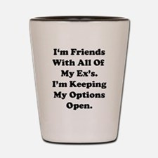 Friends with Ex.eps Shot Glass