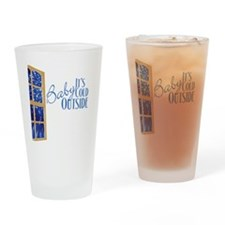 CafePressBlack10x10 Drinking Glass