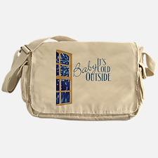 CafePressBlack10x10 Messenger Bag