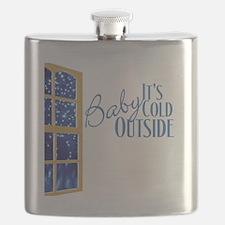 CafePressBlack10x10 Flask