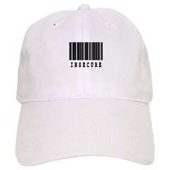 Insecure Barcode Design Baseball Cap