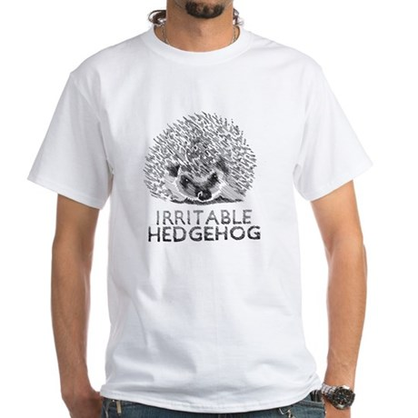 hedgie White T-Shirt