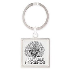 hedgie Square Keychain