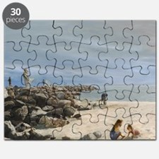 Half Moon Bay Painting Section Puzzle