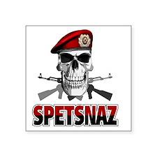 "spetsnazskull Square Sticker 3"" x 3"""