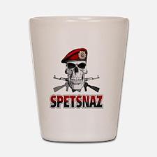 spetsnazskull Shot Glass