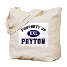 Property of peyton Tote Bag