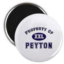 Property of peyton Magnet