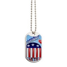 Remember Our Vets PosterP Dog Tags