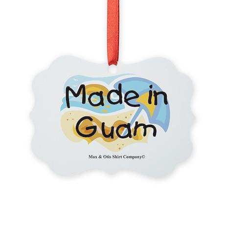 made-in-guam Picture Ornament