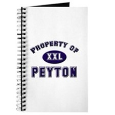 Property of peyton Journal