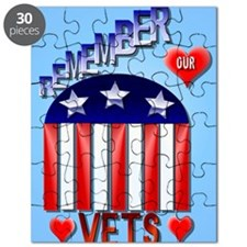 Remember Our Vets PosterP Puzzle