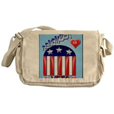Remember Our Vets PosterP Messenger Bag