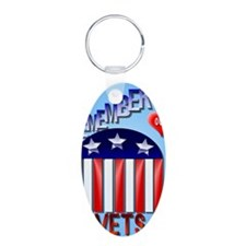Remember Our Vets PosterP Keychains