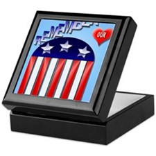 Remember Our Vets PosterP Keepsake Box