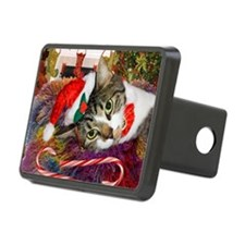 cat xmas room12x16 Hitch Cover