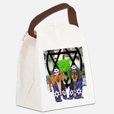 tiger and lily jewish12x16 Canvas Lunch Bag