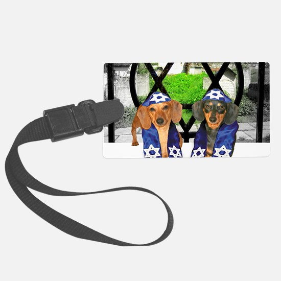 tiger and lily jewish12x16 Luggage Tag