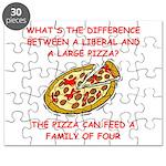 LIBERAL pizza Puzzle