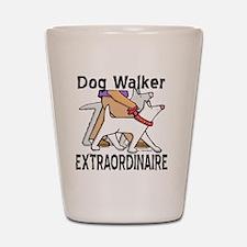 dogwalker Shot Glass