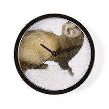 ferretcalferret2 Wall Clock