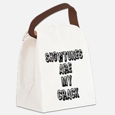 SHOWTUNES ARE MY.eps Canvas Lunch Bag