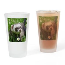 ferretcalcover2 Drinking Glass