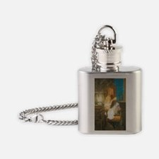 The Scary Story Flask Necklace